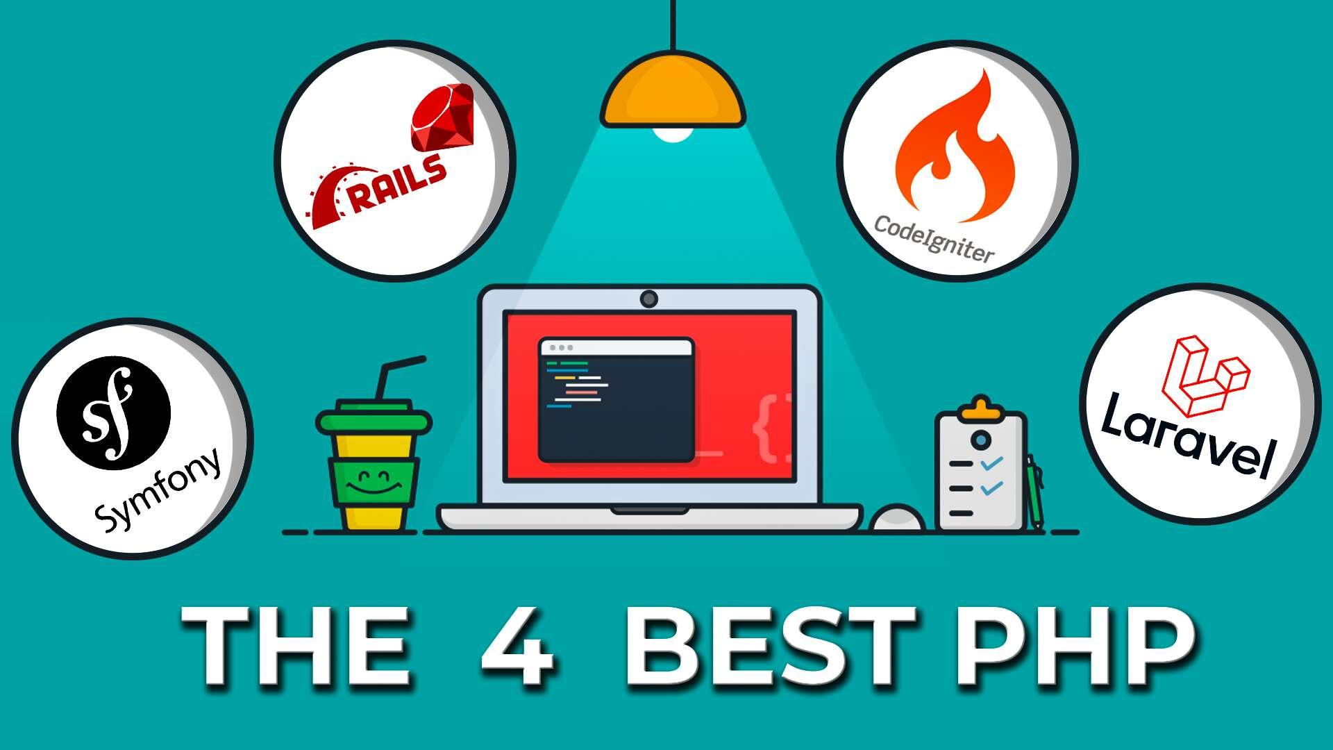 The 4 Best PHP Frameworks