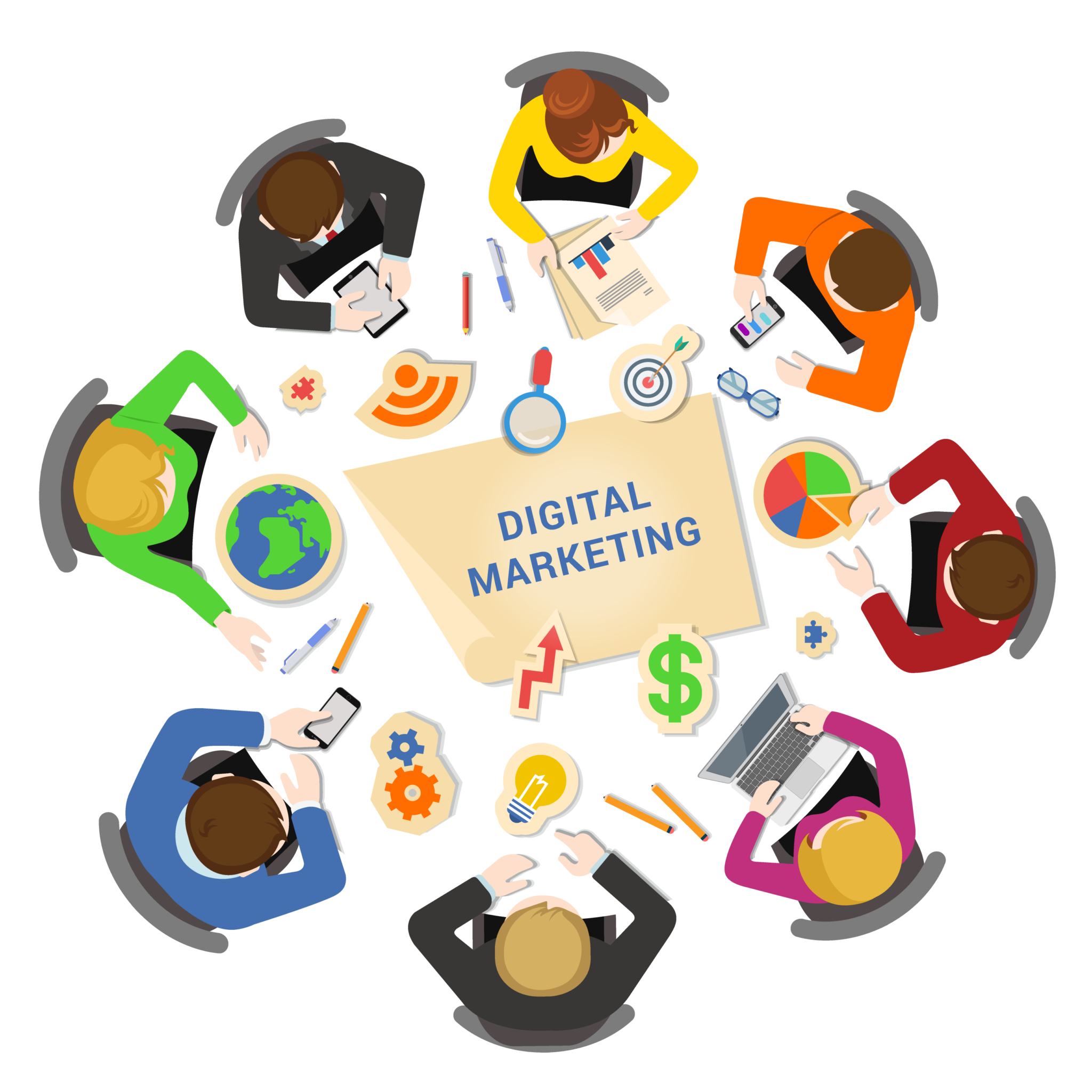 Digital Marketing Services in the USA, Canada, and UAE